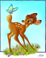 Bambi by Laurine-Tellier