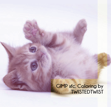 GIMP xcf. Coloring #2 by twistedtwist