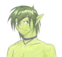Adult Beast Boy by SparklinBurgndy