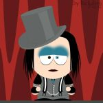 Marilyn Manson goes South Park by Rickulein