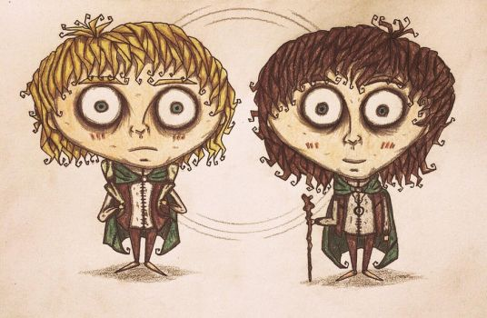 Sam and Frodo by november-ludgate