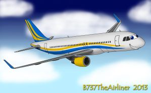 Willie The Airbus A320 (Old Version) by B737TheAirliner