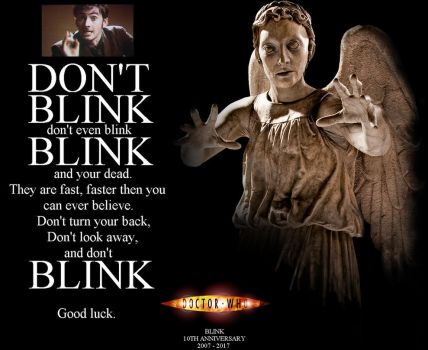 Doctor Who - Blink - 10th Anniversary by DoctorWhoOne