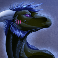 Icon Comish - Pink on Black by TwilightSaint