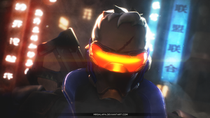 Overwatch: Soldier 76 by MrShlapa