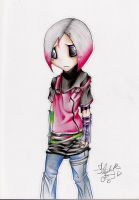 Lil' Emo Girl by GaaraDemon82
