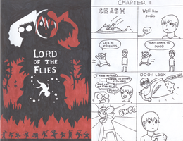 Lord of the Flies by gingerfishsticks