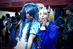 Lady Ciel and Alois cat by Namy-Kyodai
