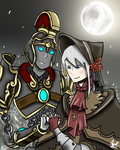 Janus + doll   smiteborne by TimeLordJikan