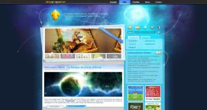 My blog's new Design by DesignSpartan