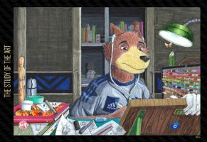 705 - The Study of the Art by HweiChow
