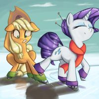 I Hate Ice Skating by ImpCJCaesar
