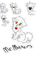 Mr.  Mittens by CRANBEARY