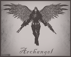 Archangel (Mass Effect 2) by toxioneer