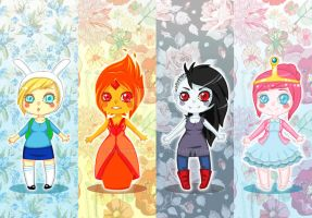 Adventure Time Bookmarks for sale! by KnockMeOut