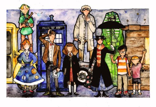 The Time Traveler's Society by Kettlehead