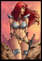 Red Sonja Sample by ThiagoBColors