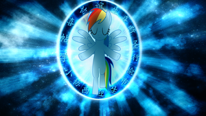 Rainbow Dash Wallpaper by TygerxL