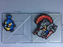 #588-#589 Karrablast and Escavalier Perlers