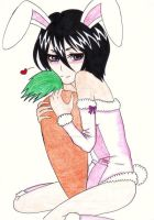 Rukia: A little bunny for you by AngyValentine
