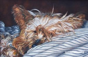 Sophie -   Oil Painting by AstridBruning
