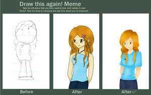 OC Lea Before, After, Afterer by tintedslightly