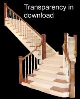 Staircase   1 by BrokenFeline-Stock