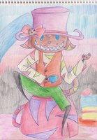 Coocy the Mad Hatter by I-love-Yami-and-Neko