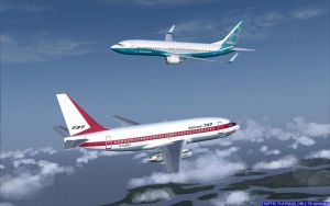 FS2004 - Boeing 737-200 Meet Boeing 737 MAX 2 by B737TheAirliner