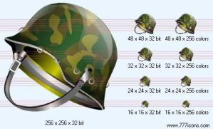 Helmet Icon by military-icons