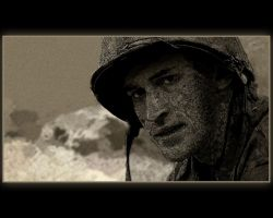 The Pacific Soldier by marcjuuhh