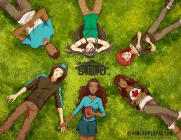 SRU - The Unbroken Circle (Close-up) by pineapplefactor