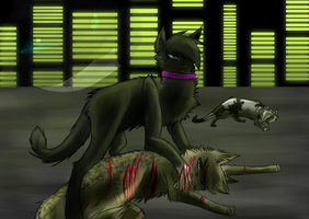 Scourge's first kill by shadowfeather01