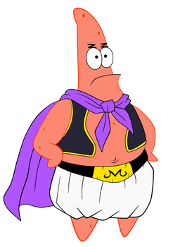 Patrick Star- Majin Buu's Clothes by Krizeii
