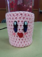 Kirby Cup Coozie by kittylvr8577