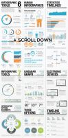 Infographic Elements Bundle by webdesigngeek
