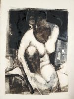 Gary Kelley Monotype by theartdepartment