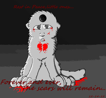 Forever,and ever,the scars wil remain...:Tribute: by Jersey-Cat