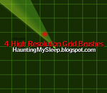 4 High Resolution Grid Brushes by Killa-Cary