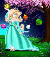 Giftart: Rosalina by Bowser2Queen