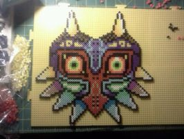 Majora Perler Beads by Light-Arrow