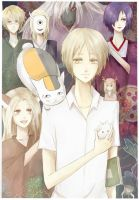 Natsume and friends by Nimbottom