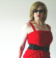 Lady in Red by Kalolaina