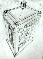 TARDIS by cybernetichero