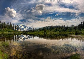 Mirror Image - HDR by aeroartist