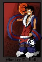 Monkey D. Luffy by Toxandreev