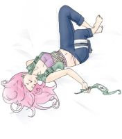 Rest After the Mission: Sakura by Princess-Panda-chan