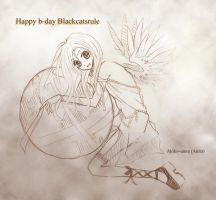 b-day pic for BCR by akiko-sama