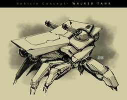 Tank Concept by scruffyronin