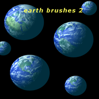 Gimp earth brushes 2 by feniksas4